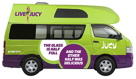 Jucy Chaser Wohnmobil Neuseeland